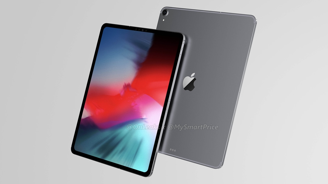 Render do suposto iPad Pro de 2018