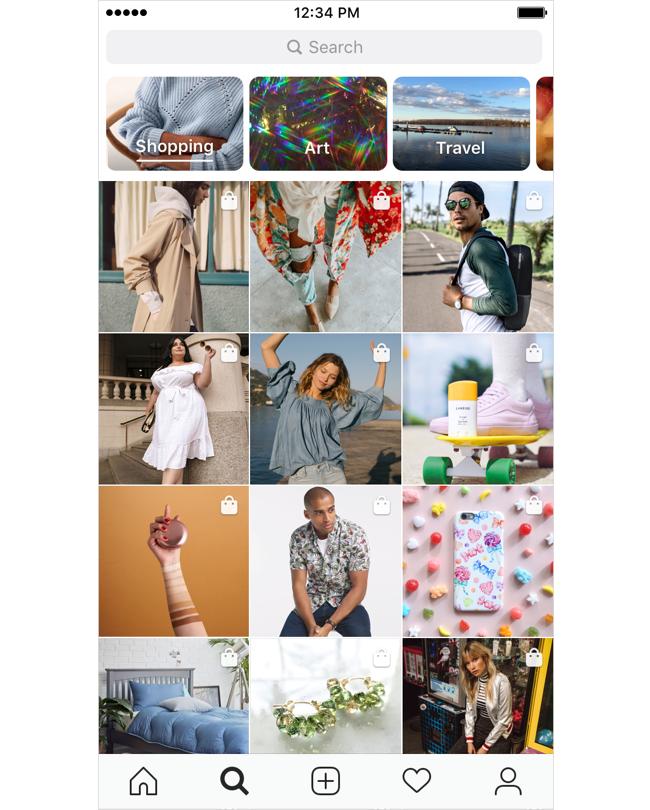Canal de Compras do Instagram