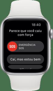Detecção de Queda do Apple Watch Series 4
