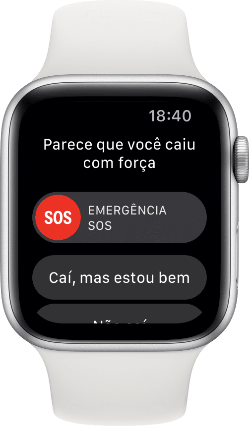 Detecção de Queda do Apple Watch Series 4