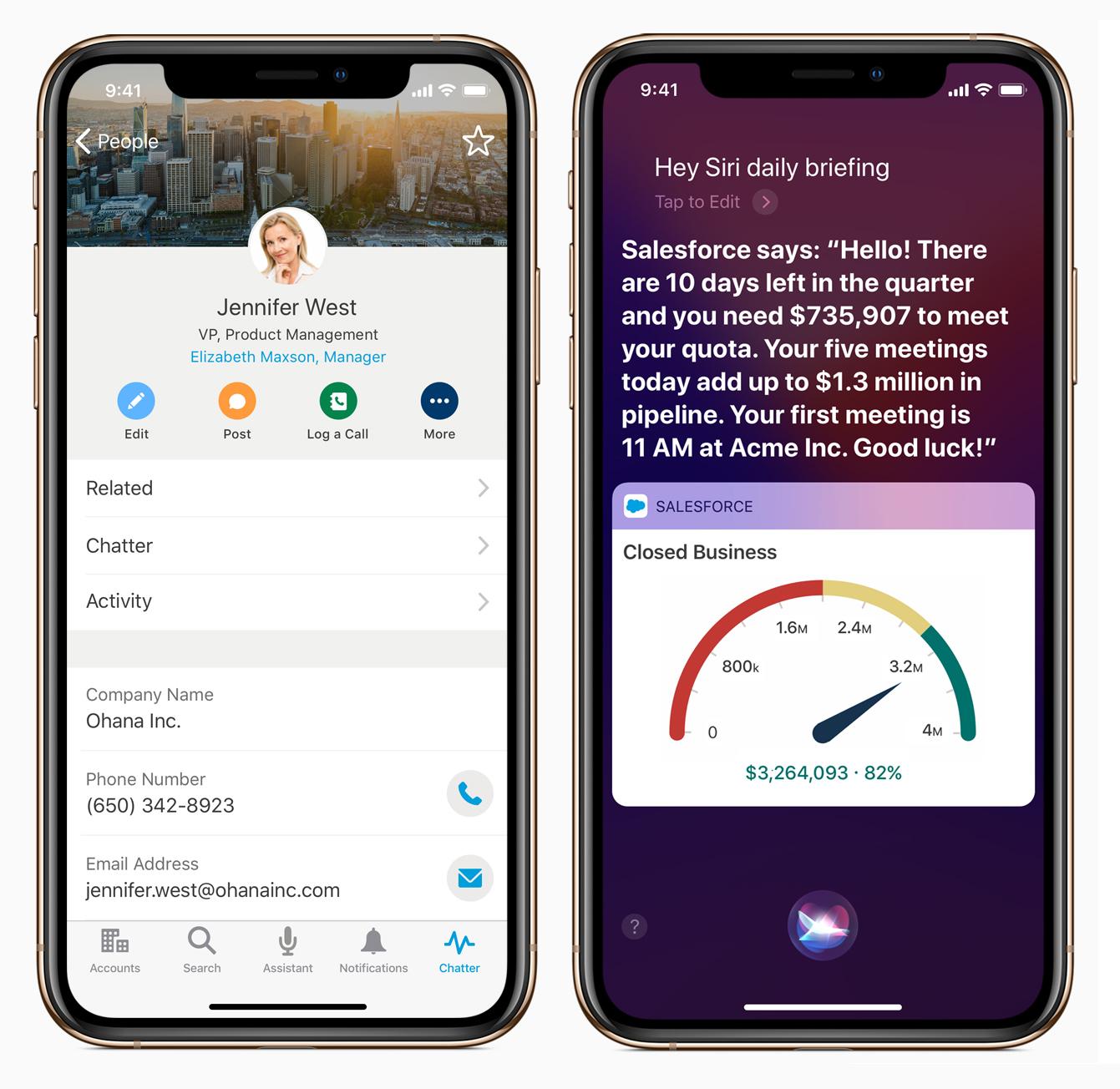 Parceria entre Apple e Salesforce