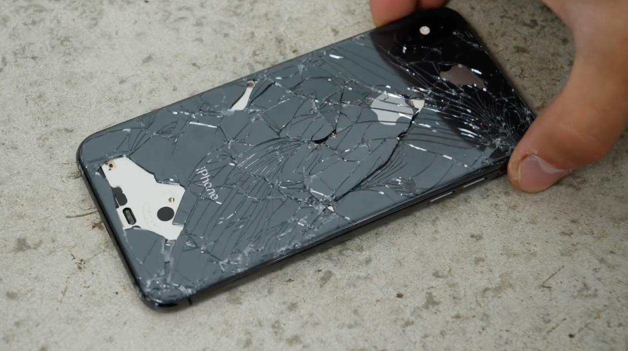 Teste de queda do iPhone XS no EverythingApplePro