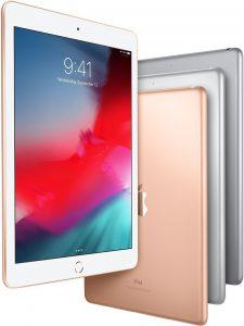 iPads de 9,7 polegadas voando em todas as cores