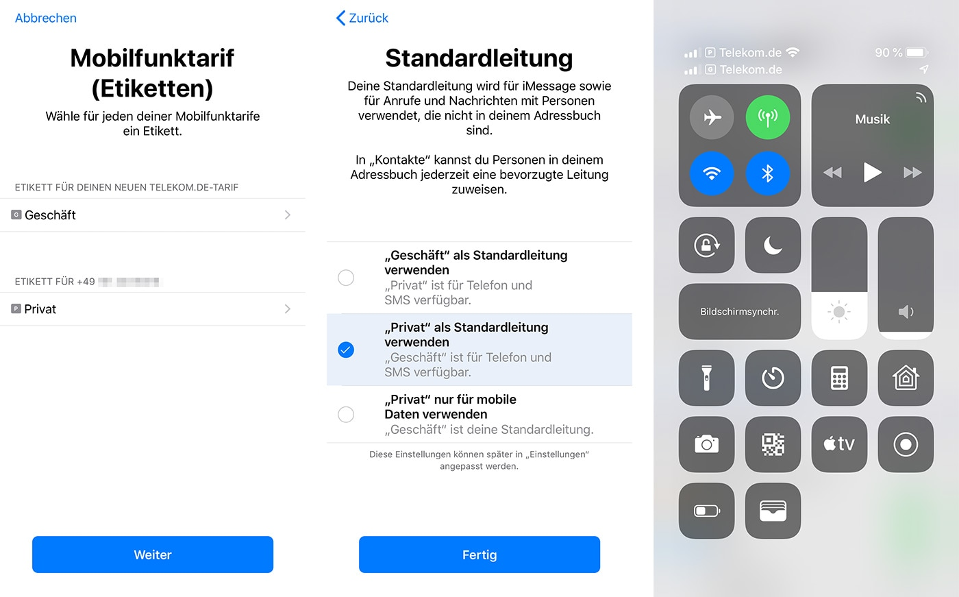 Dual SIM no iOS 12.1 beta