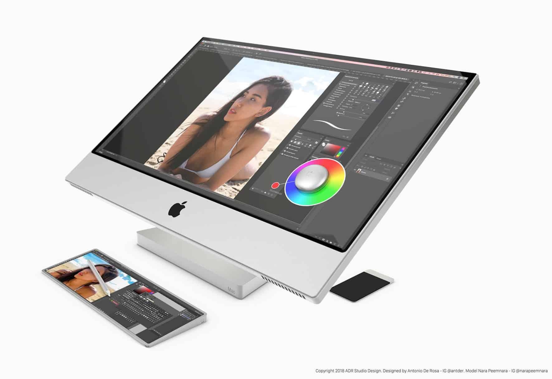 """Conceito de """"Mac Touch"""""""