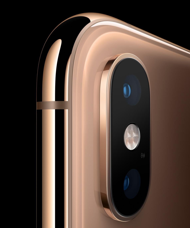 Câmera traseira do iPhone Xs