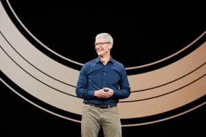 Tim Cook na keynote do evento especial de setembro