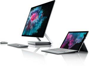Família Microsoft Surface 2018