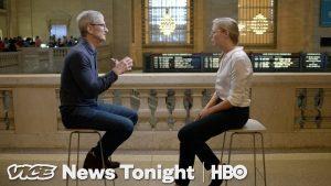 Entrevista de Tim Cook para a VICE News