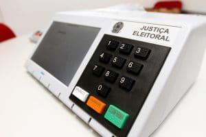 Urna eletrônica - Justiça Eleitoral