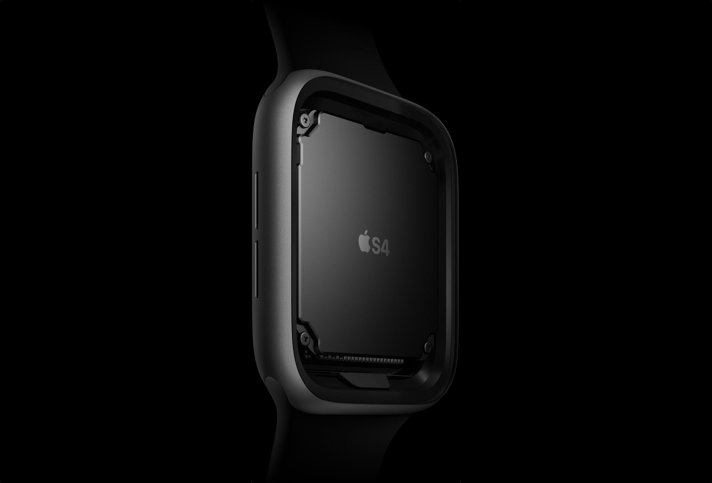 Chip S4 do Apple Watch Series 4