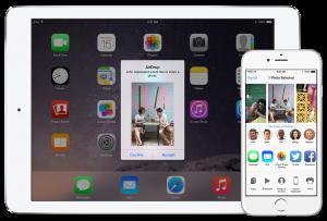 AirDrop no iOS