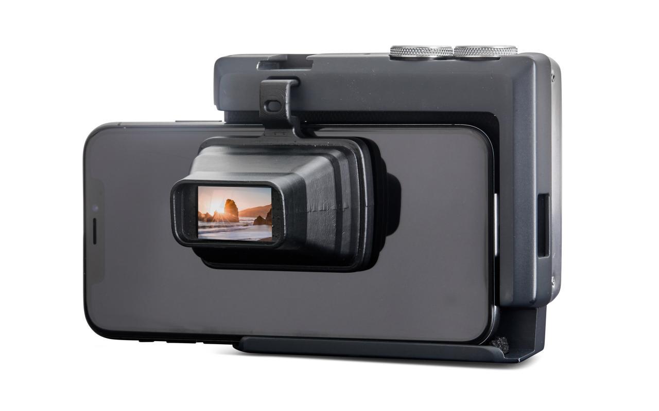 Pictar Pro, acessório de câmera para iPhones e smartphones que dá ferramentas de DSLR a eles