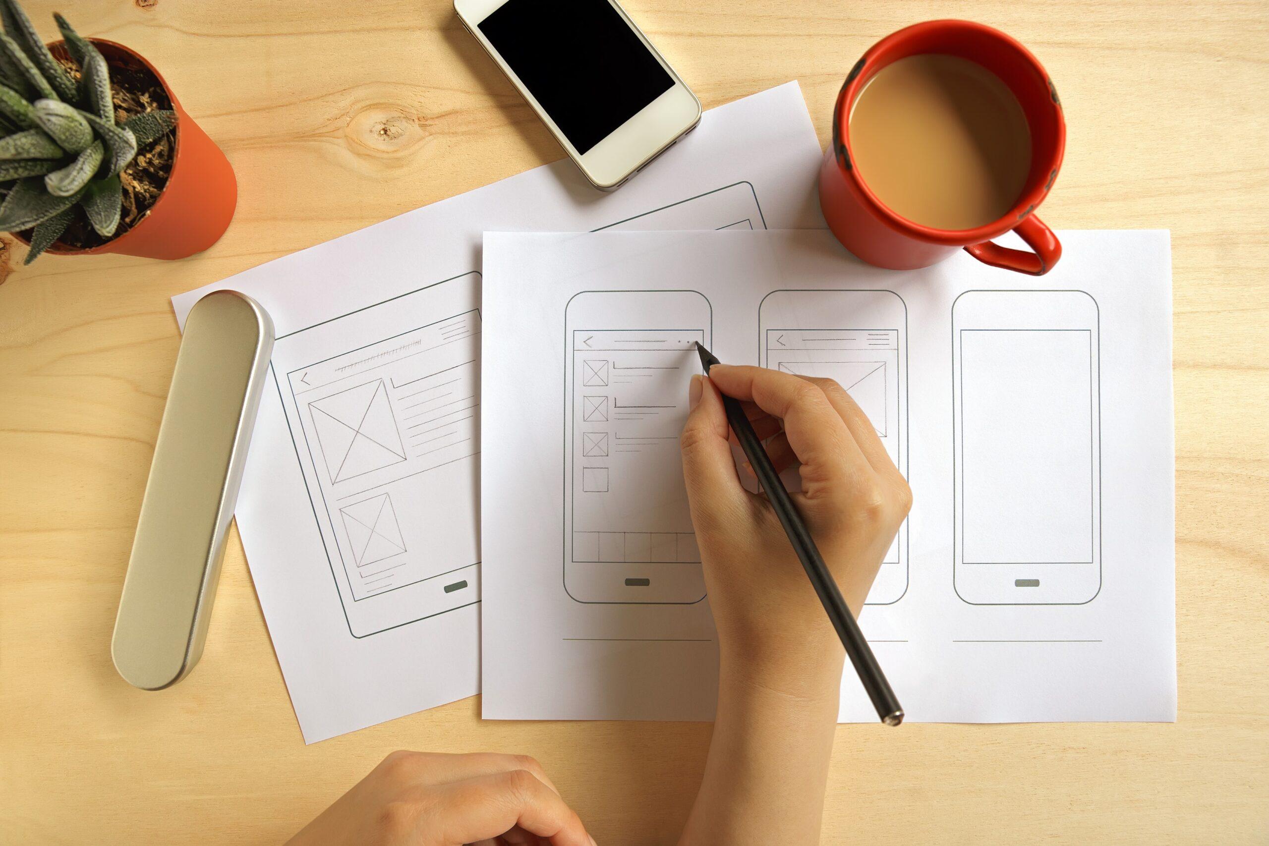 Projeto desenhado para desenvolvimento de app