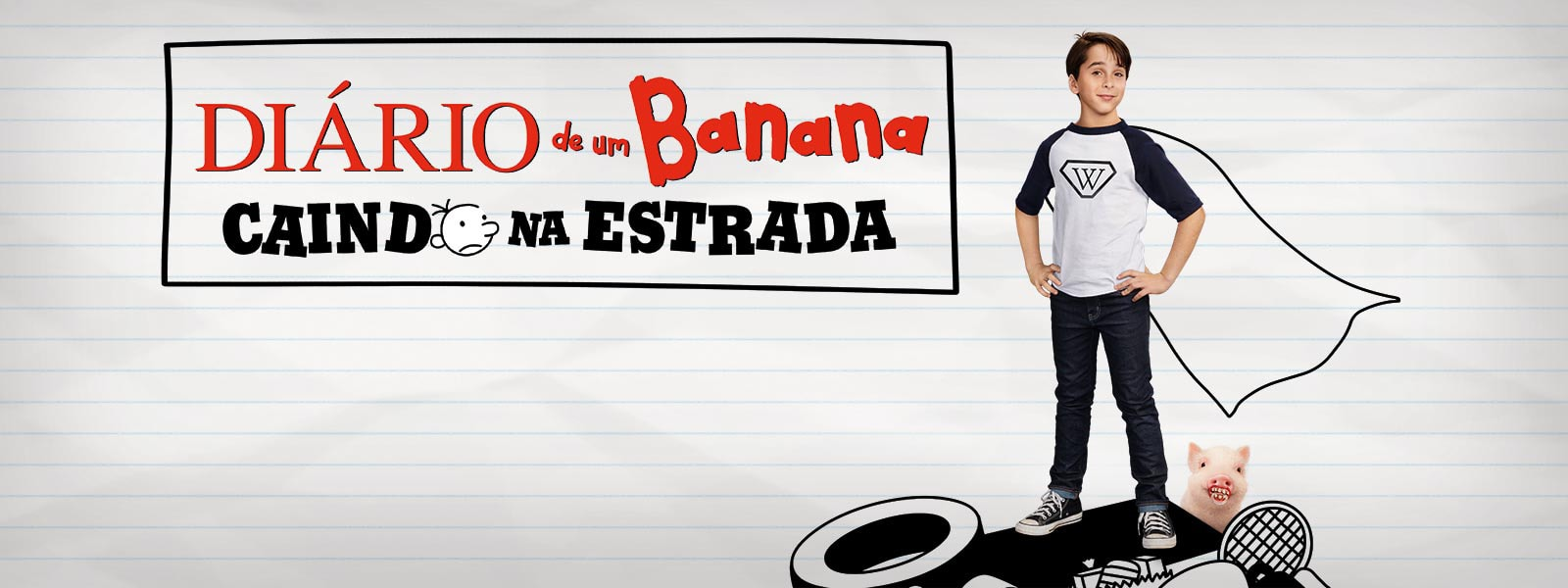 Filme - Diário de um Banana: Caindo na Estrada