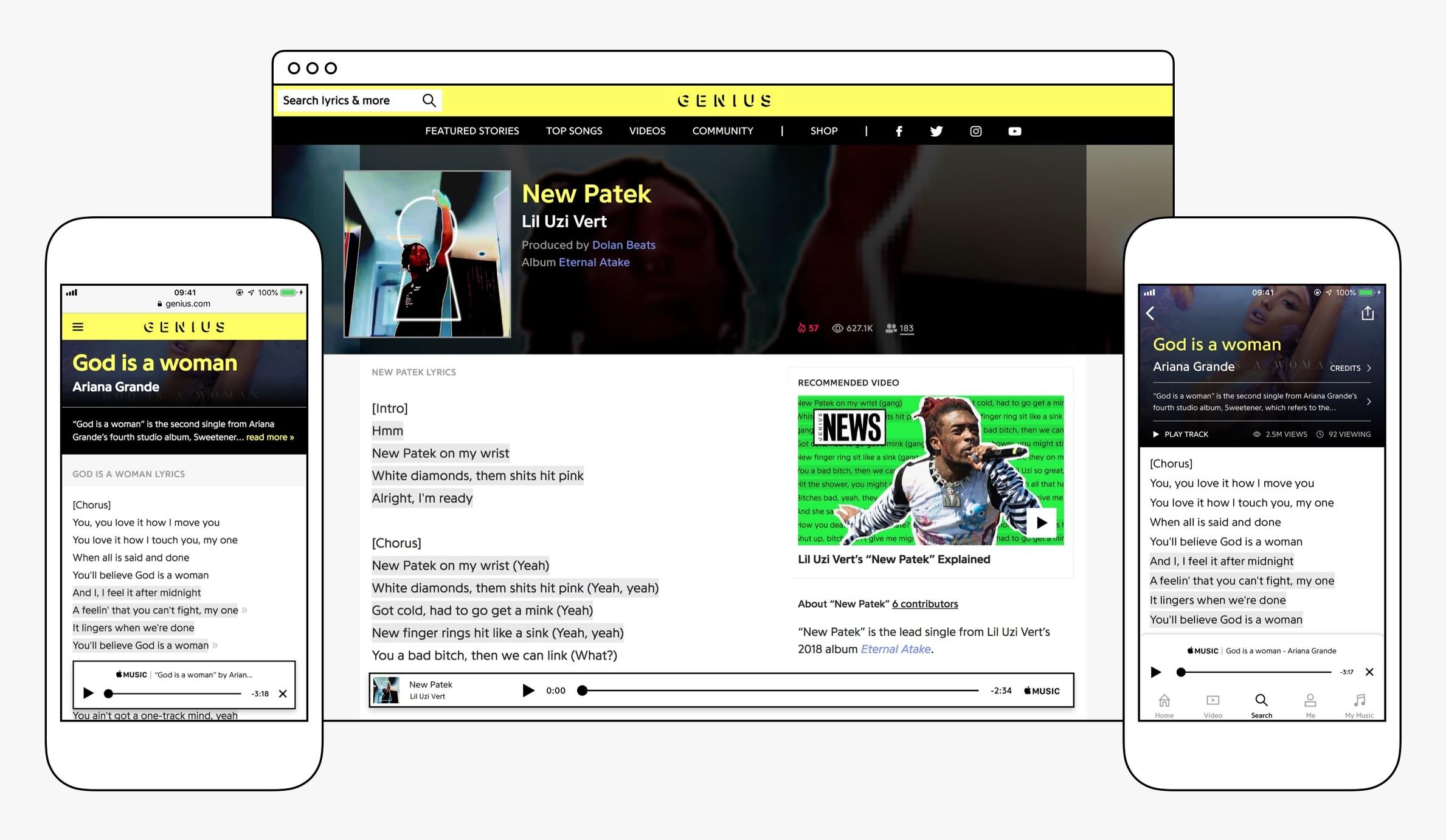 Parceria entre Apple Music e enciclopédia musical Genius