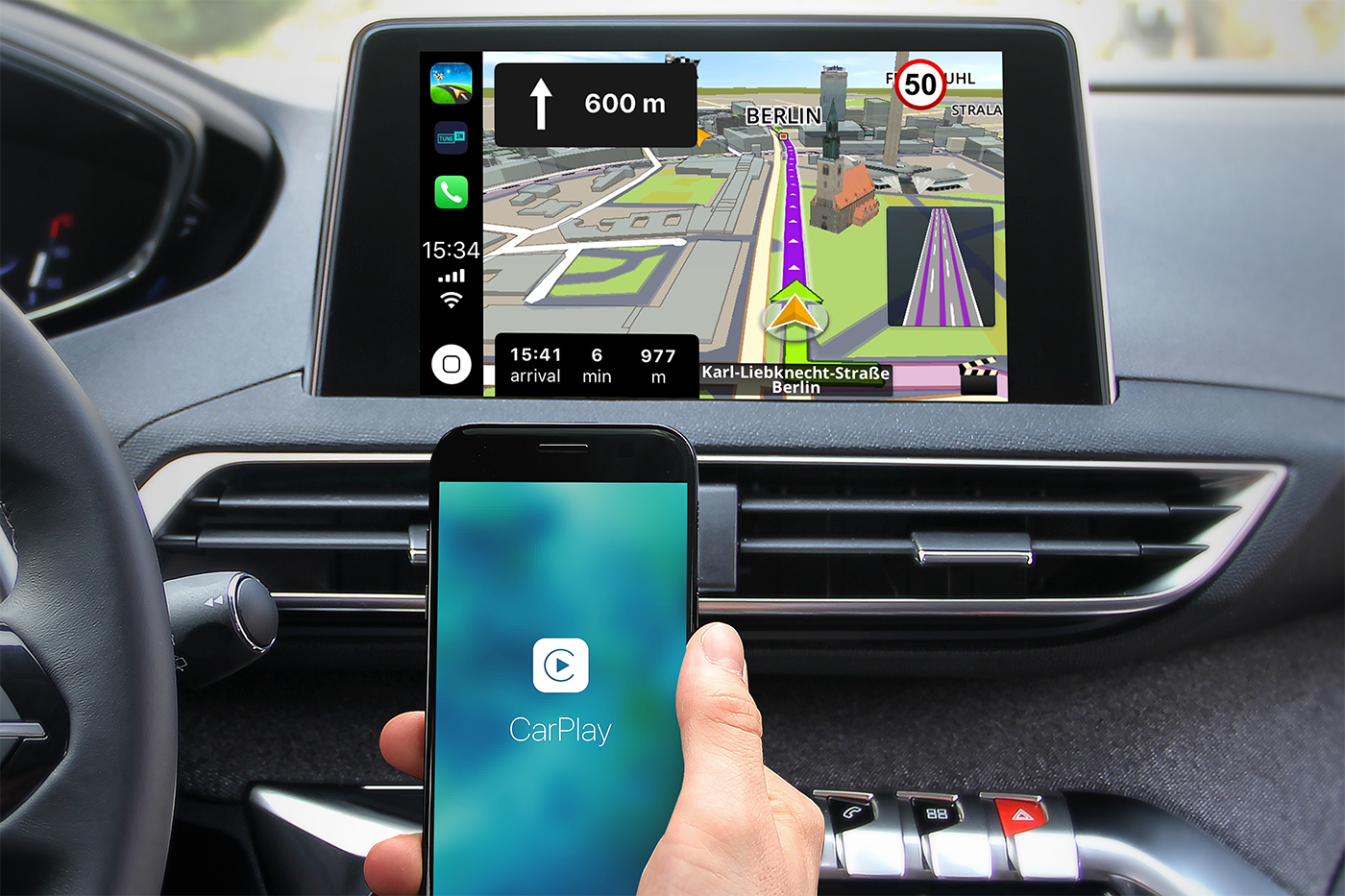 Sygic e CarPlay