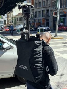 Mochila do Apple Maps