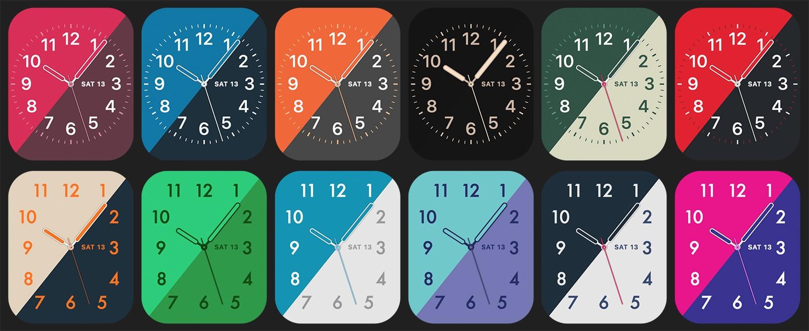 Mostradores do Apple Watch