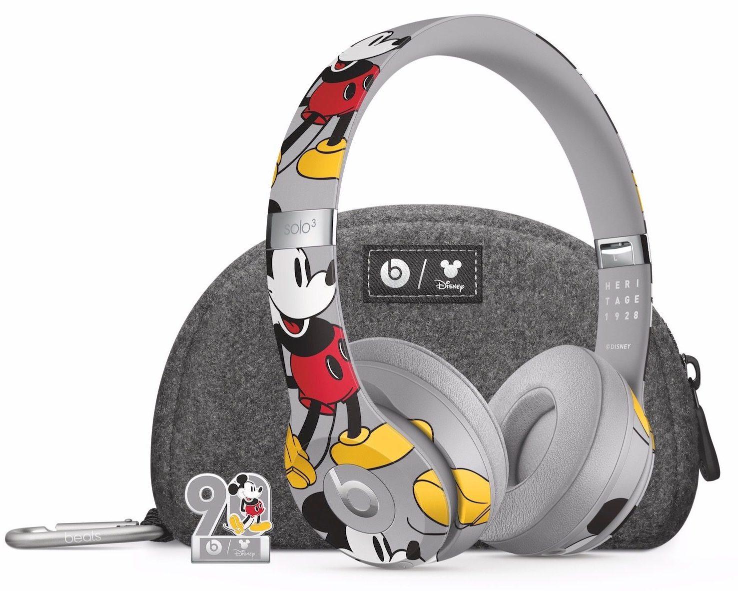 Edição especial de Mickey Mouse do Beats Solo 3 Wireless