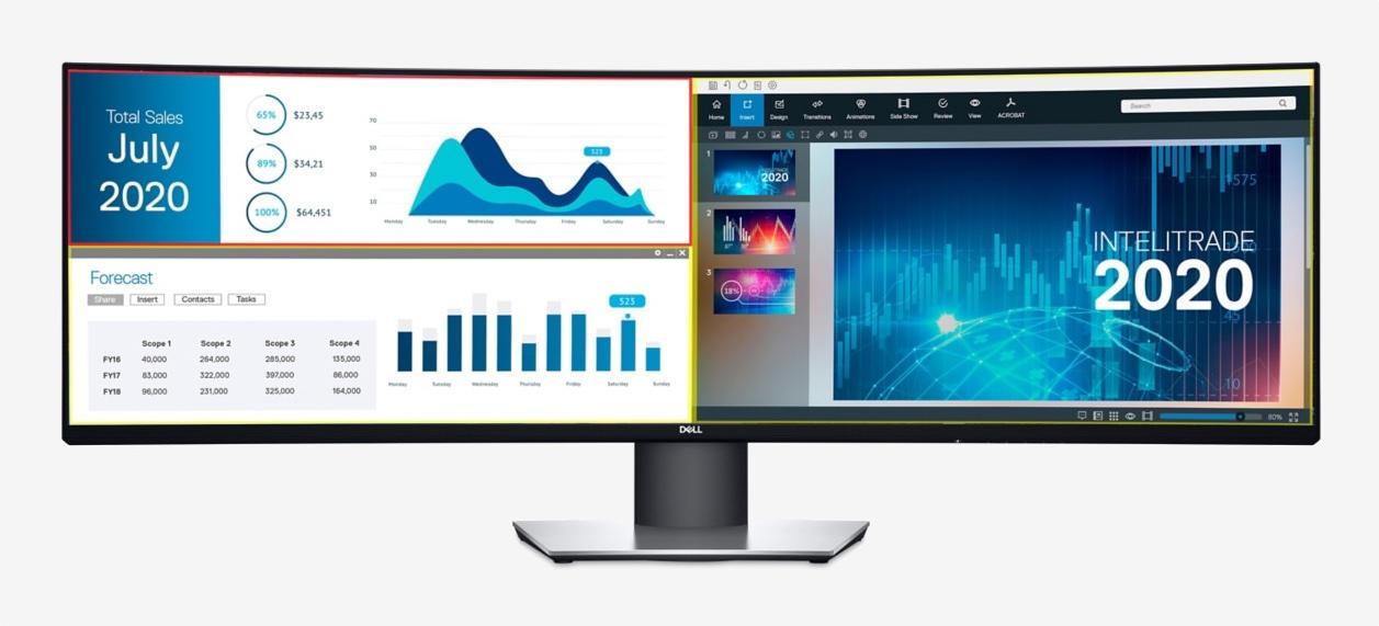 Monitor ultra-wide QHD Dell UltraSharp 49