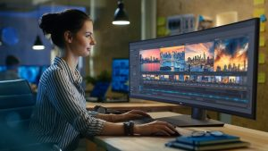 Monitor ultra-wide QHD Dell UltraSharp 49