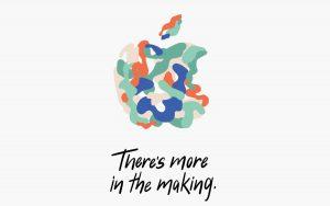 Convite para Evento da Apple em Outubro de 2018