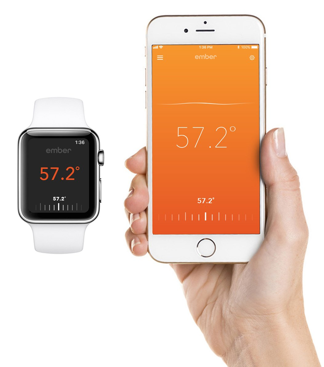 Aplicativo da ember para iPhone e Apple Watch