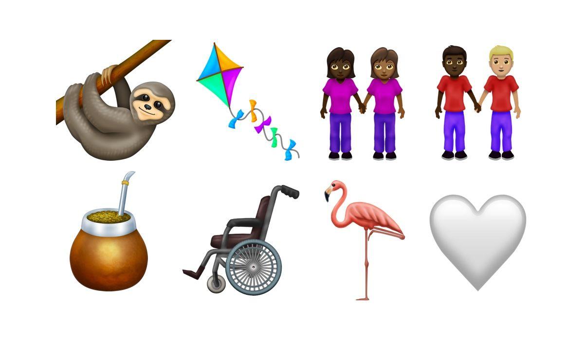 Novos candidatos a emojis em 2019