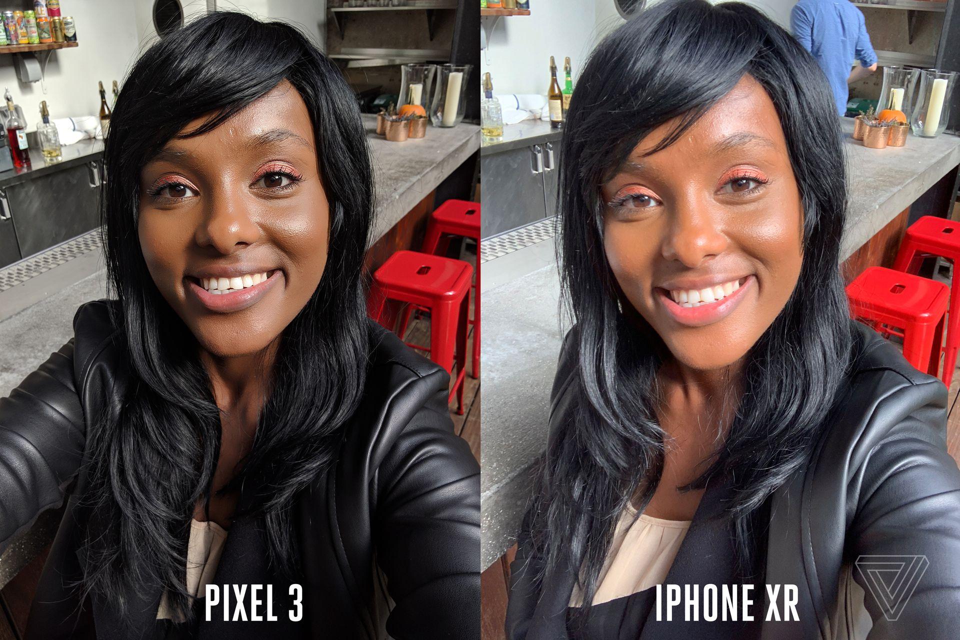 Comparação - Pixel 3 e iPhone XR