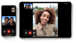 FaceTime no iPhone e no iPad