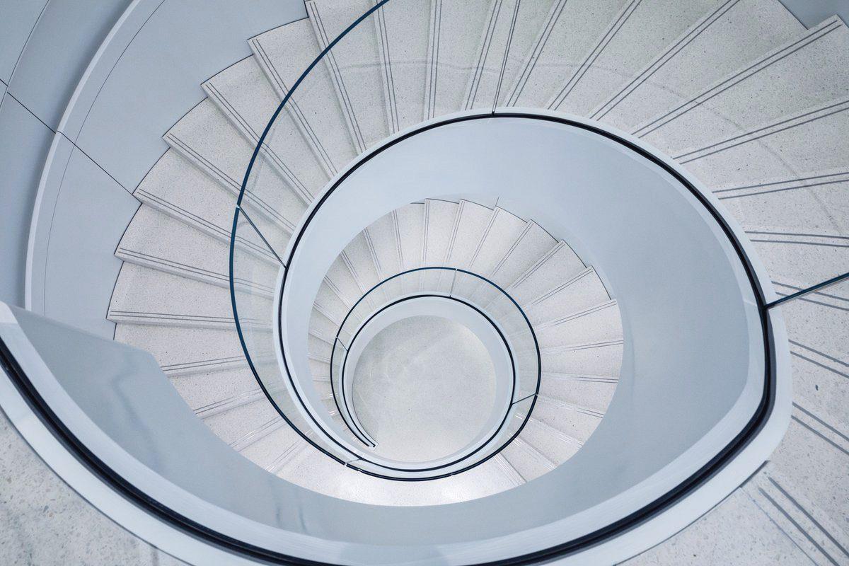 Escadaria da Apple Shibuya, em Tóquio