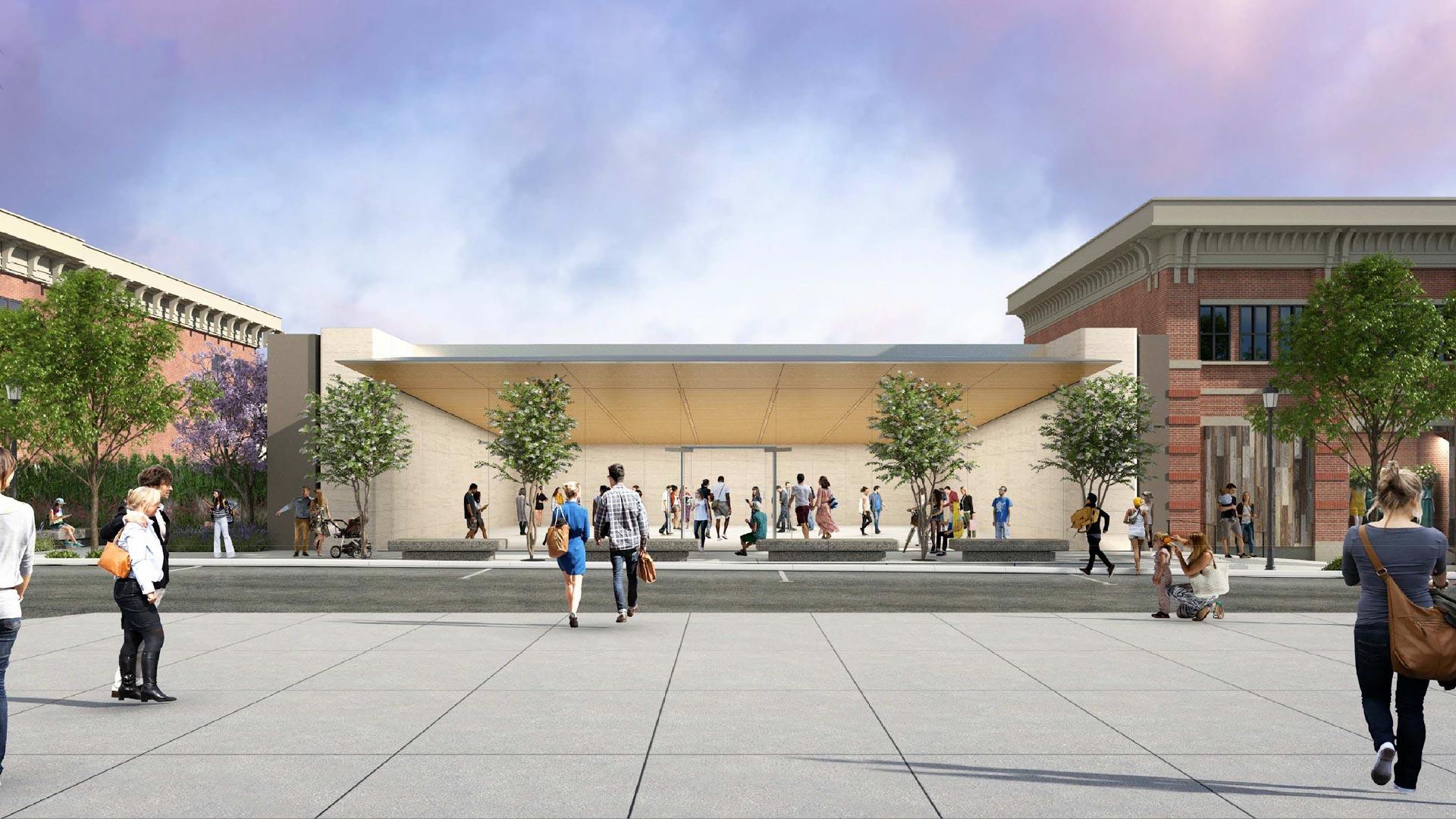 Projeto da Apple Southlake, no Texas