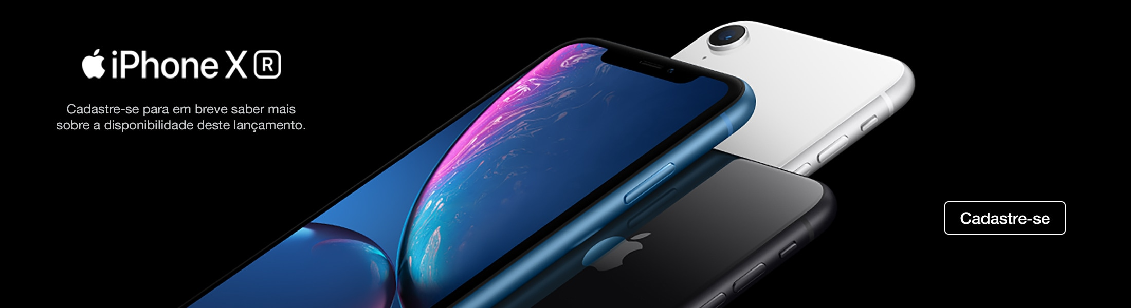 Banner do iPhone XR