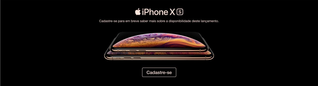 Banner do iPhone XS