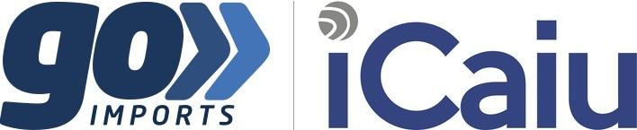 Logos da Go Imports e da iCaiu
