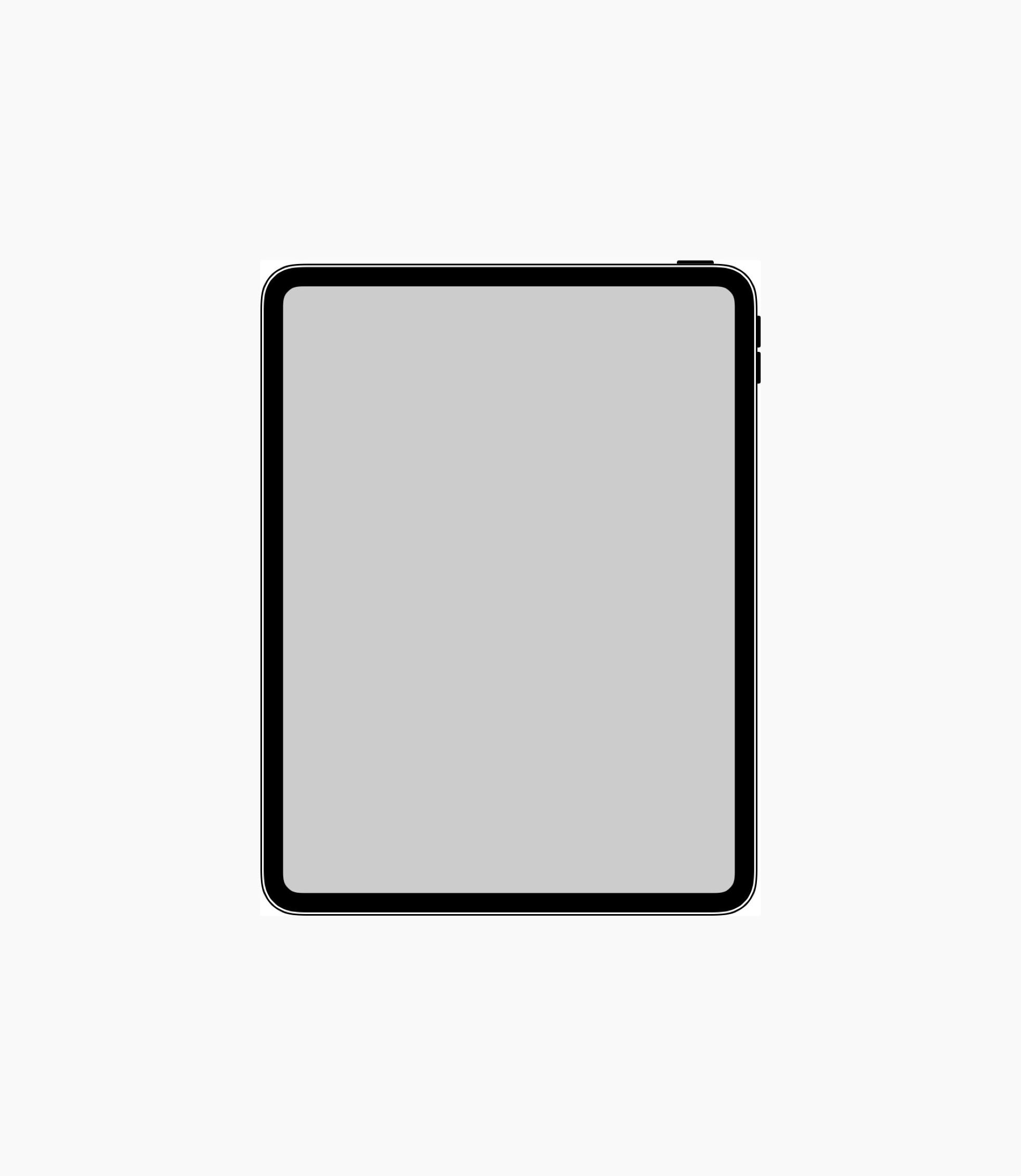 Ícone do iPad Pro encontrado no iOS (imagem para destaque do site)