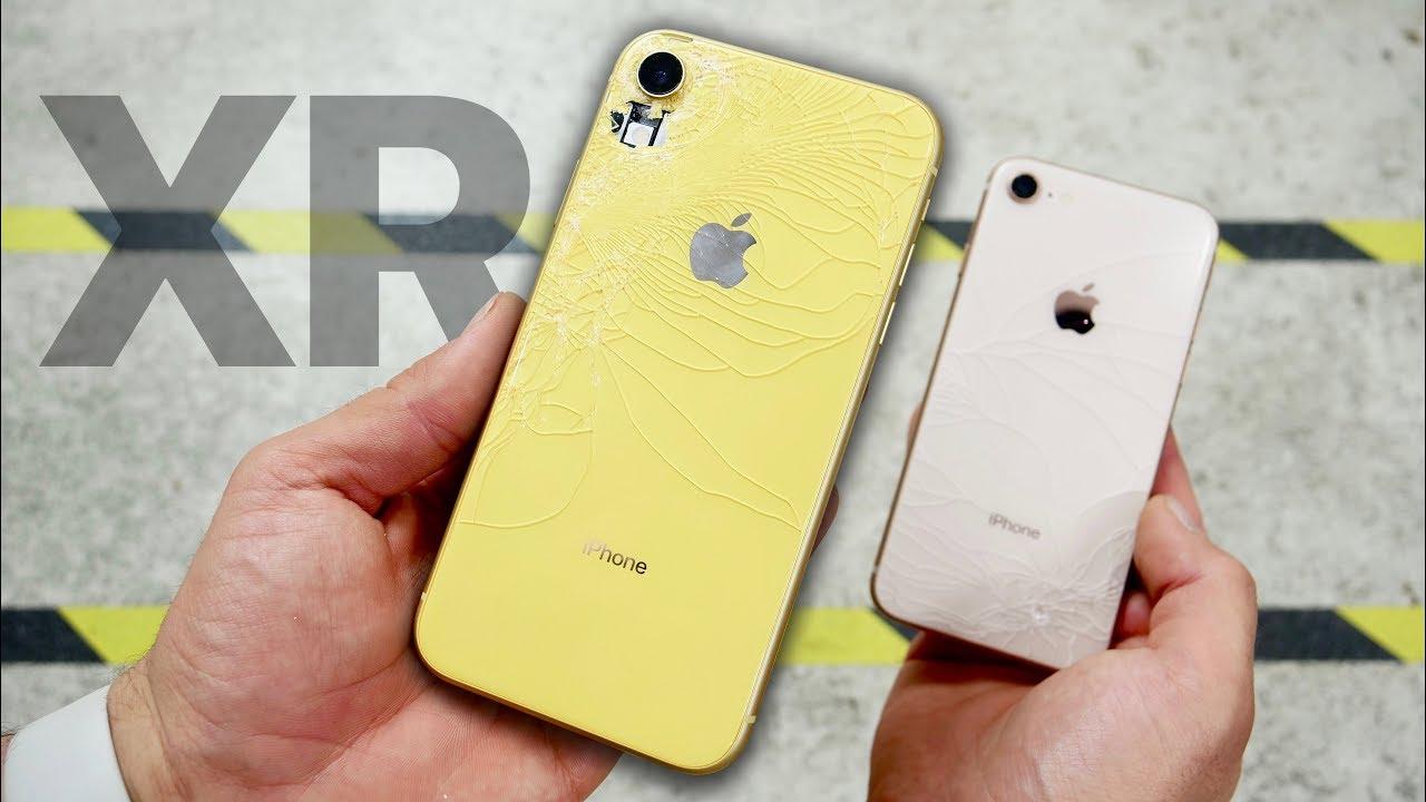 Teste de queda do iPhone XR