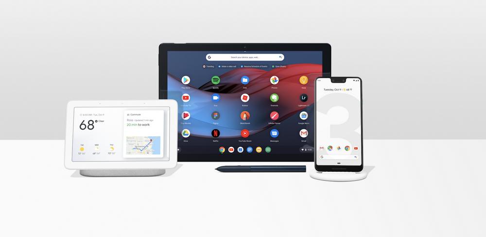 Novidades de hardware do Google, incluindo Pixel 3 e Pixel Slate