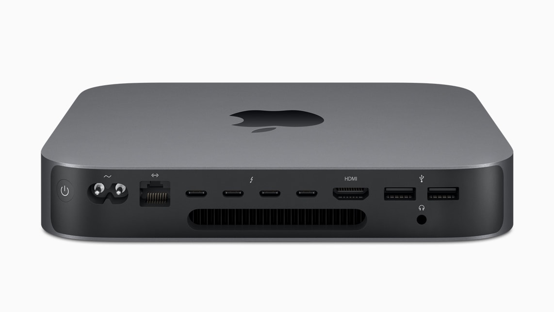 Traseira do novo Mac mini