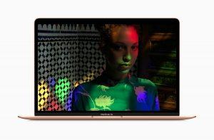 Tela Retina do novo MacBook Air