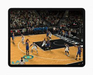 iPad Pro rodando jogo pesado graças ao chip A12X Bionic