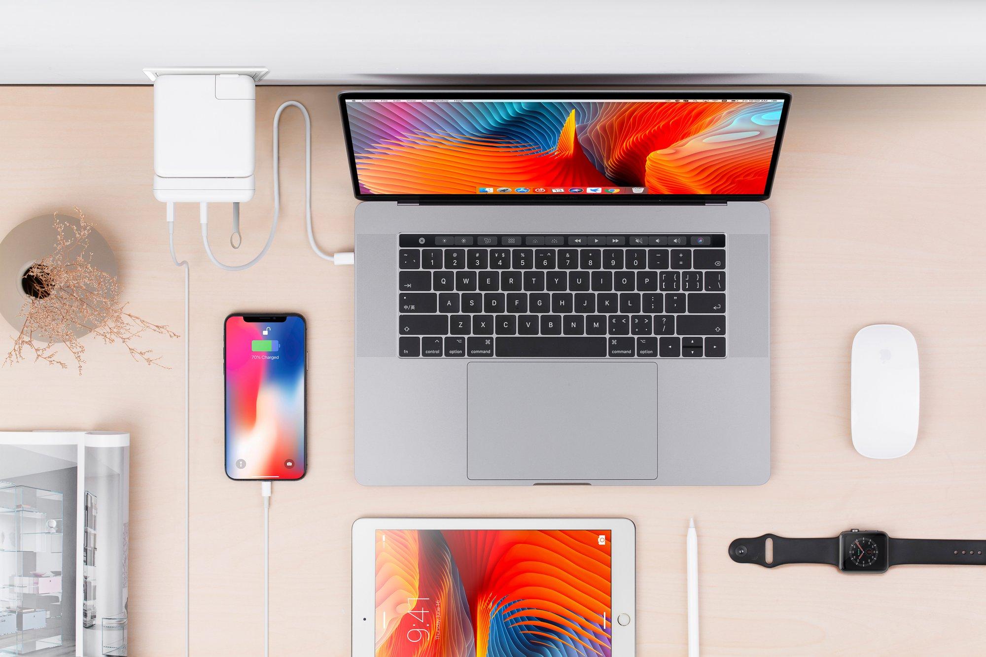 Gadgets conectados ao hub da Hyper