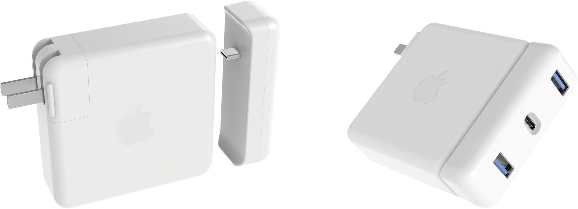 Hub da Hyper para o carregador do MacBook Pro