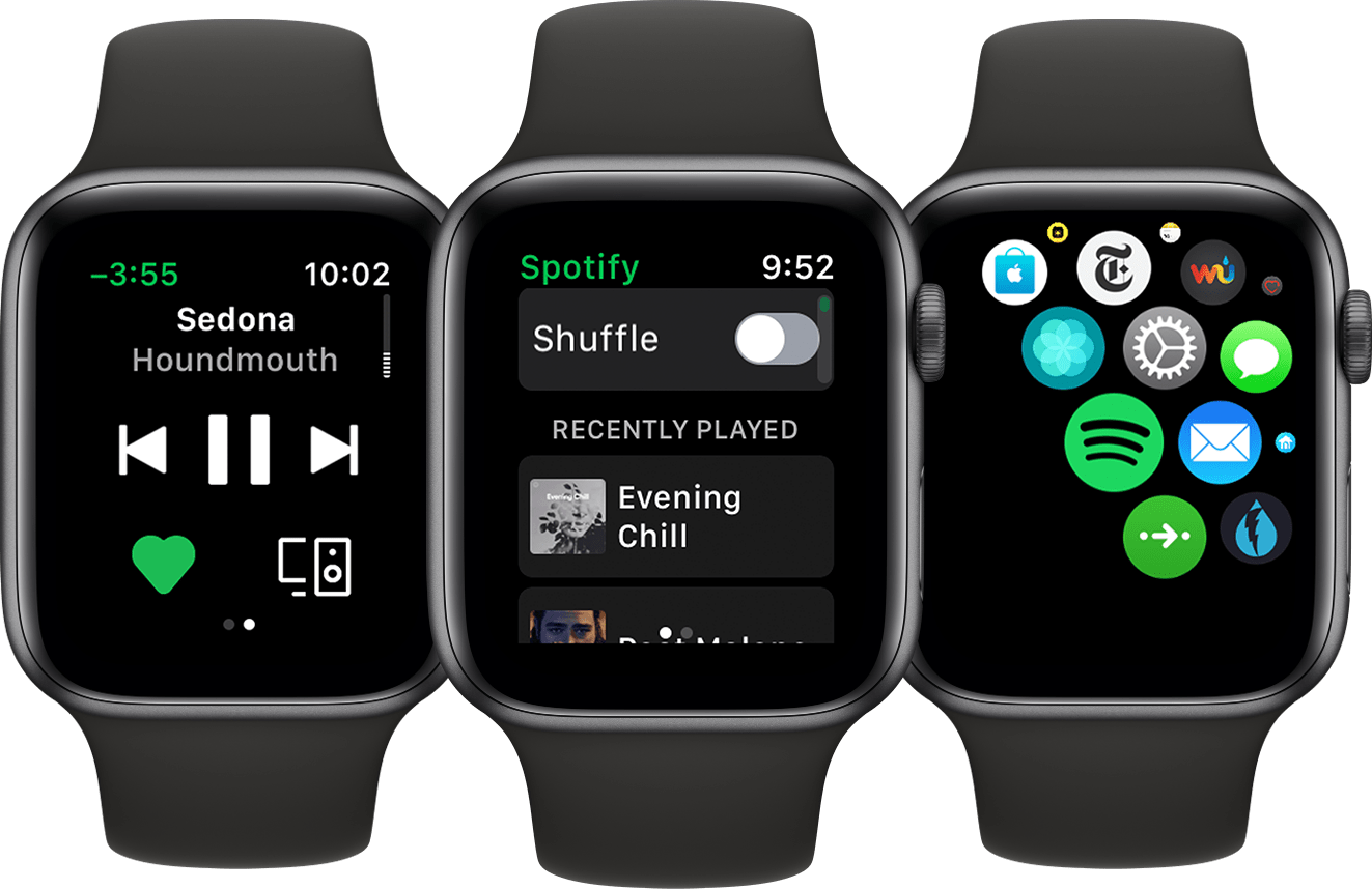 Spotify no Apple Watch