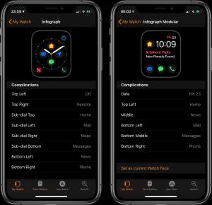 Novas complicações para o Apple Watch Series 4