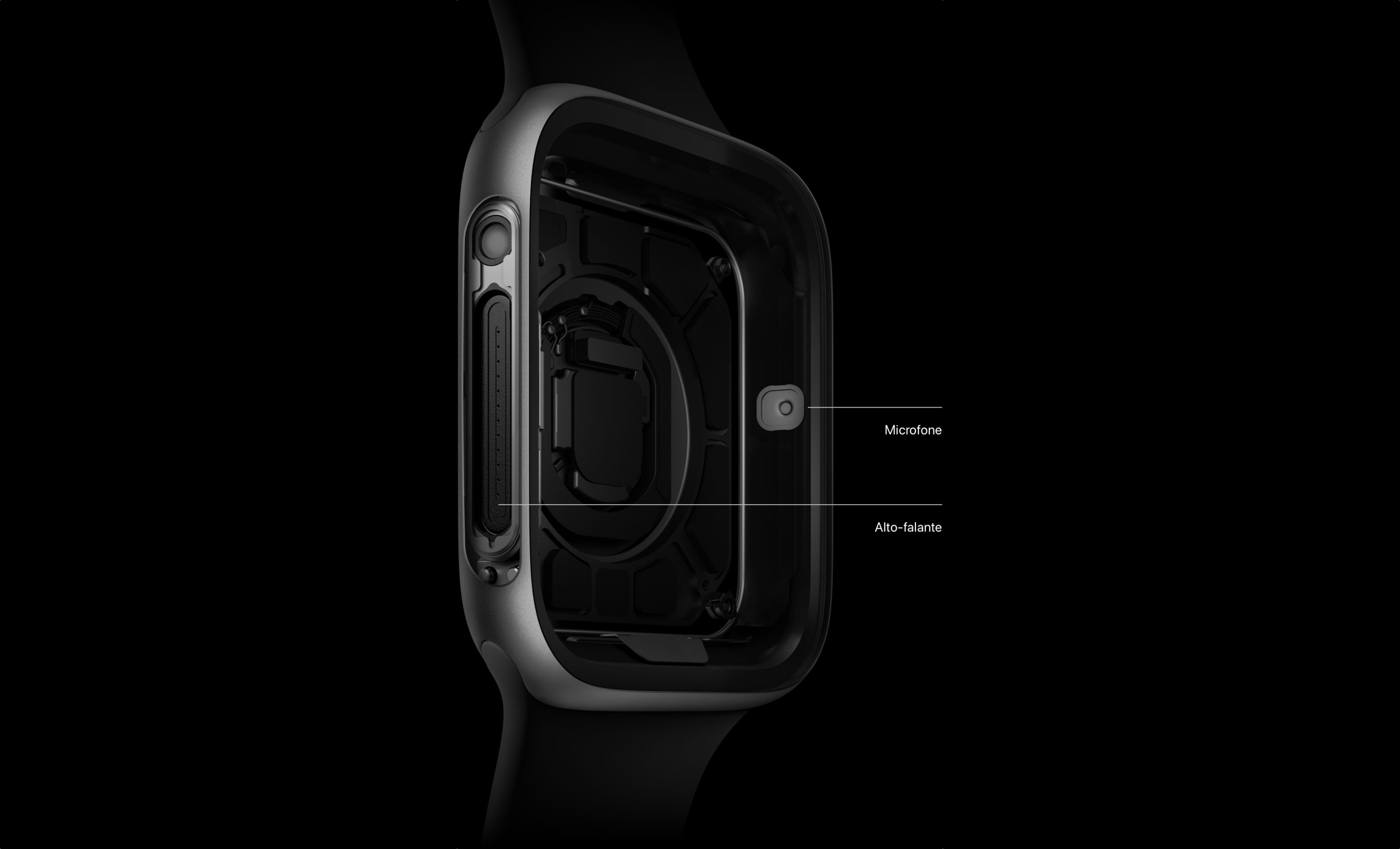 Alto-falante do Apple Watch Series 4