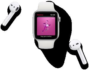 Apple Music no Apple Watch Series 4