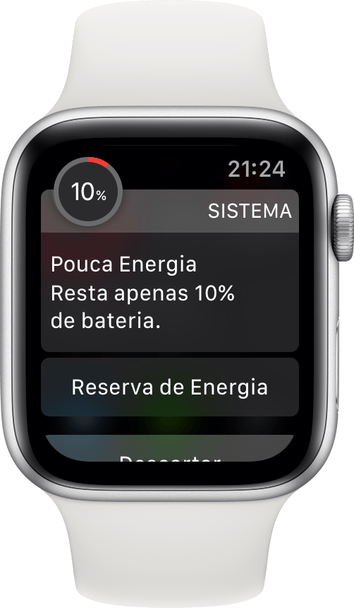 Bateria do Apple Watch Series 4