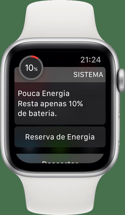 Bateria do Apple Watch Series 4